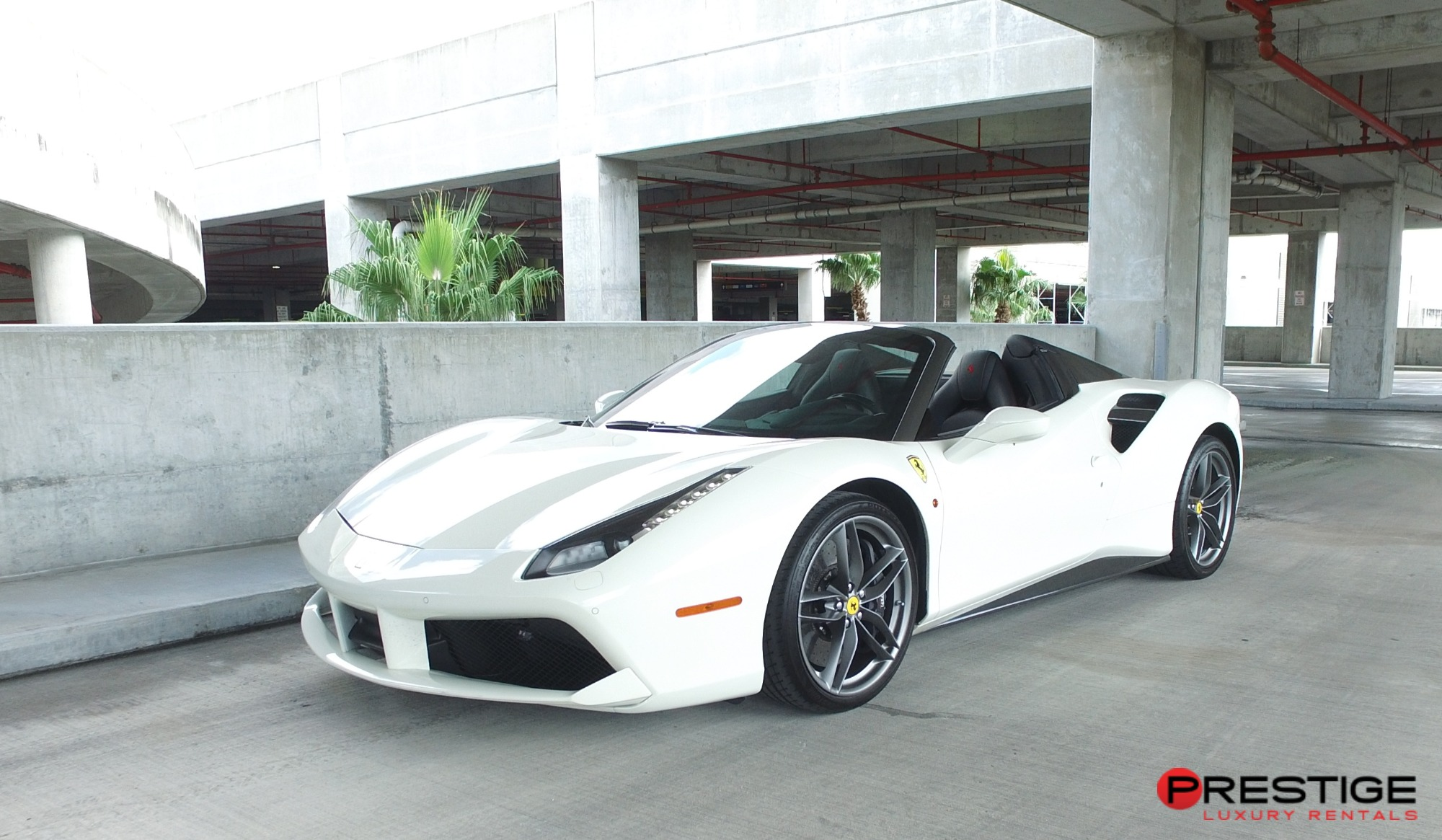 Rent A Ferrari 488 Spider Rental In Miami Available In Miami Airports And Miami Beach Exotic And Luxury Car Rentals